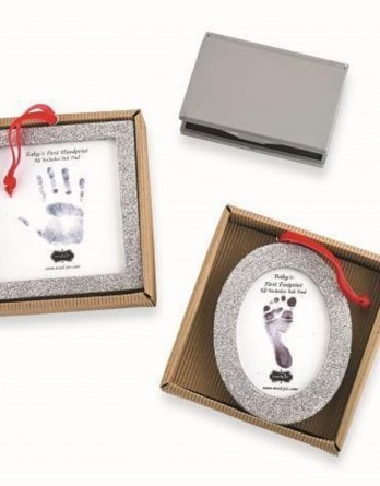 Mud-Pie-Christmas-Baby-Boy-Girl-Handprint-Footprint-Ornament-4675007-MANF-DEFECT-301370653717