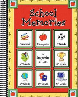 School Years Memory Books