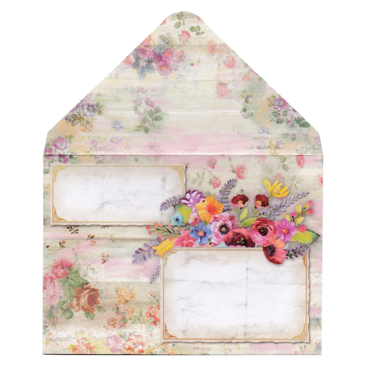 Decorative Baby Gift Box : Punch studio collection decorative pouch note cards