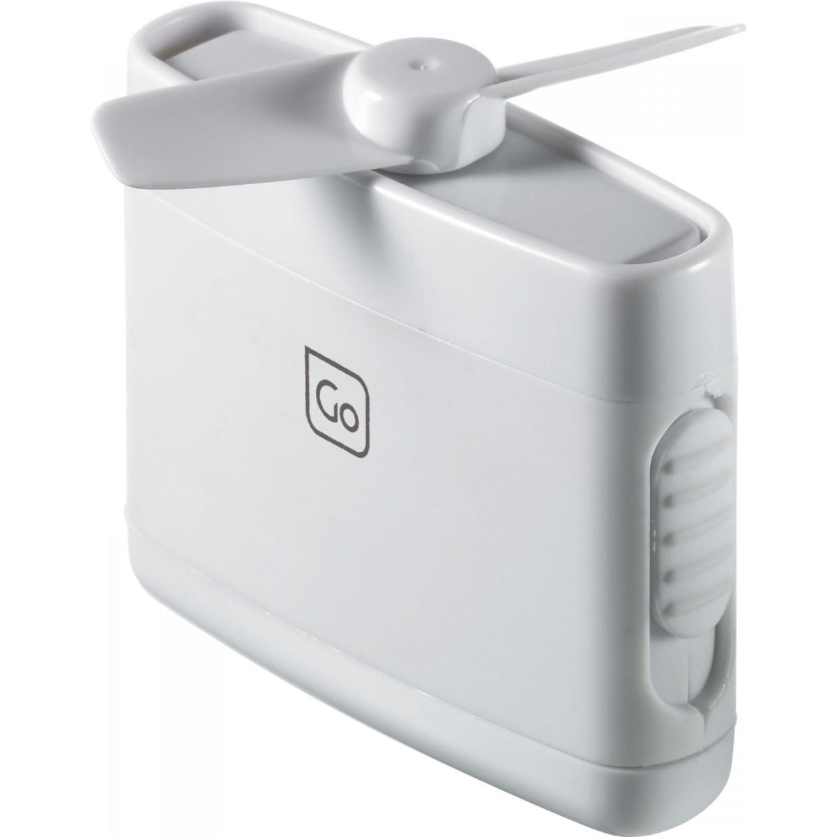 Small Travel Fan : Go travel e ultra compact discreet quiet micro fan