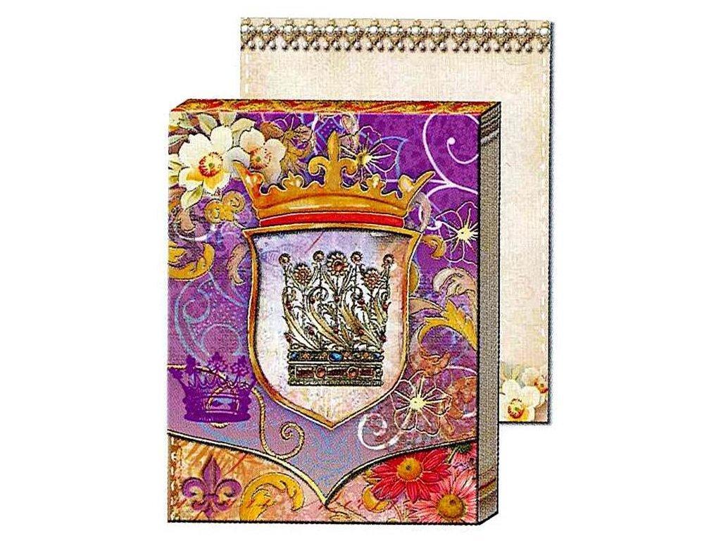 Punch Studio Embellished Mini Die-cut Window Pocket Note