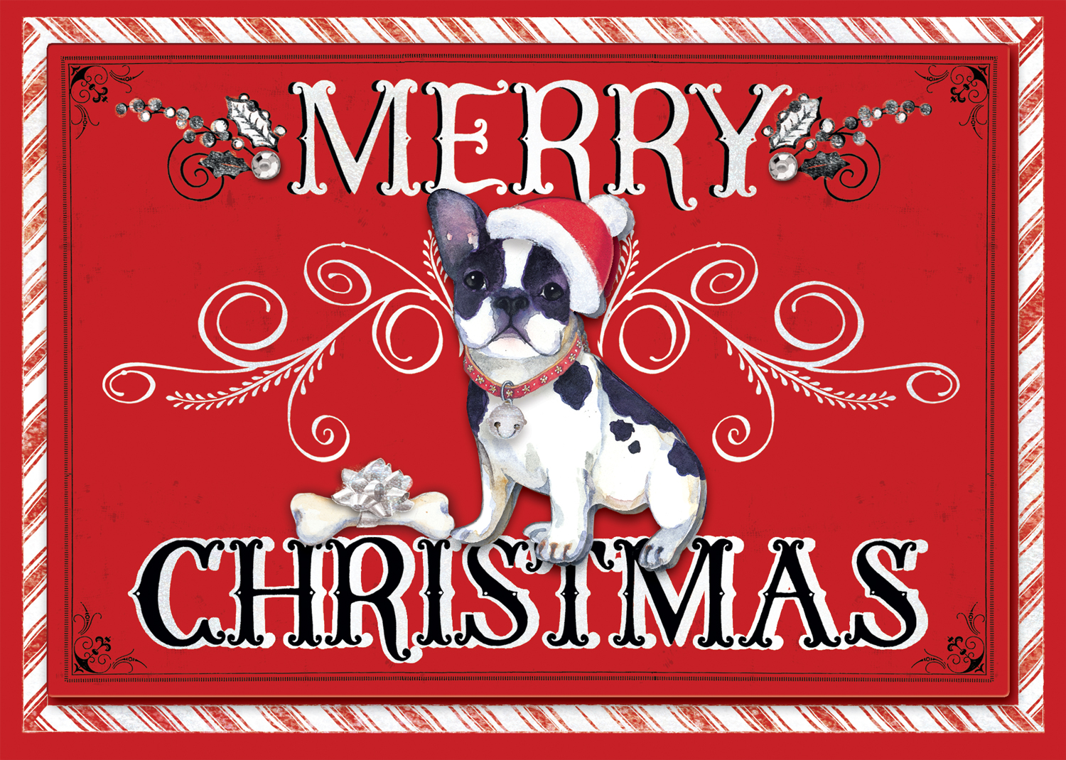 Punch studio molly rex christmas boxed greeting cards santa paws punch studio molly rex christmas boxed greeting cards m4hsunfo