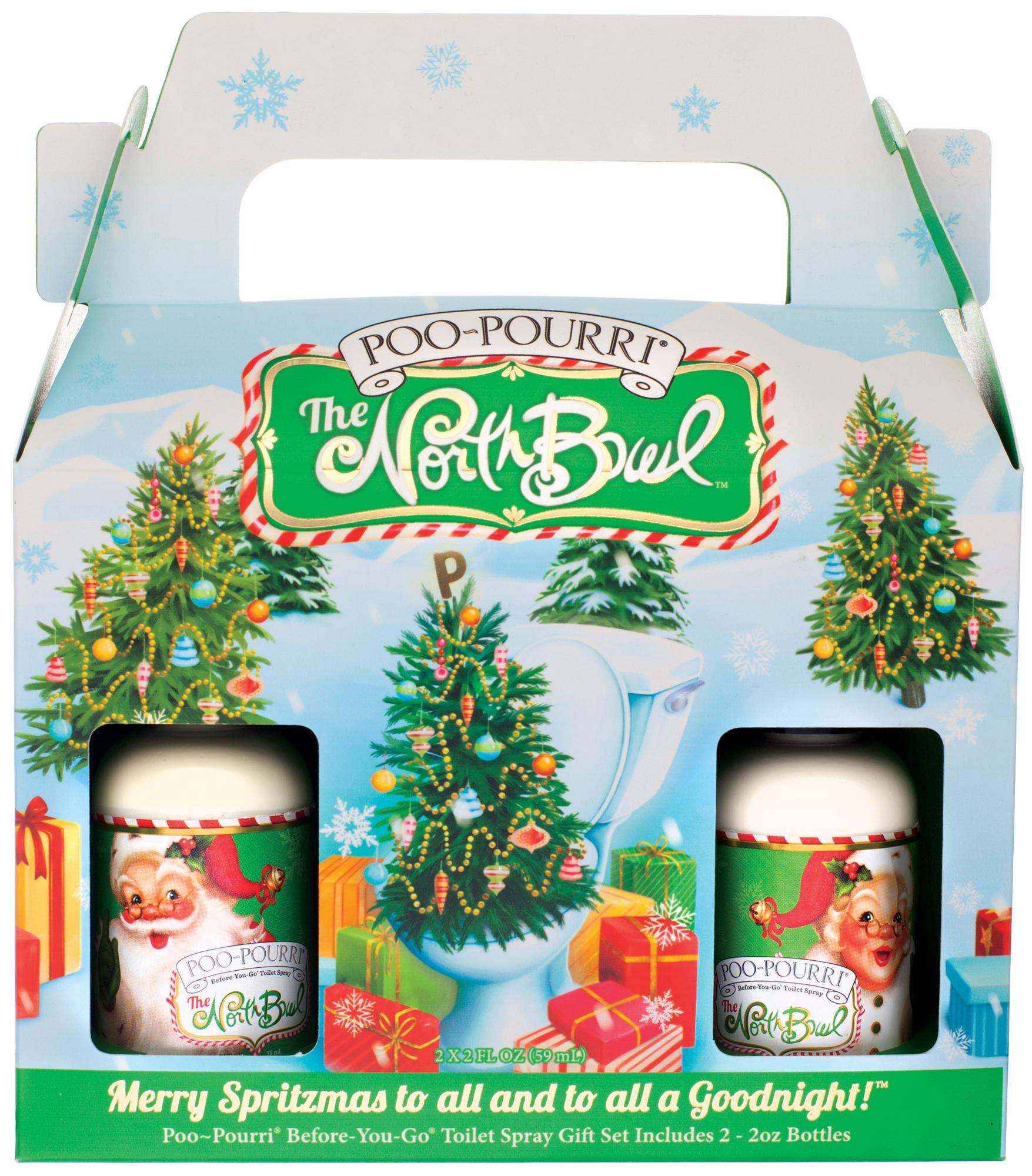 Poo pourri holiday christmas spray before you go odor - Poo pourri before you go bathroom spray ...