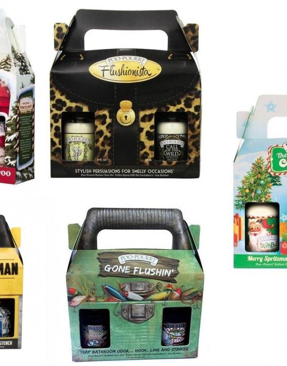 Poo-Pourri E7 Holiday Christmas Spray Before You Go Odor ...
