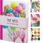 Trio Sweets Notebook Note pad Set