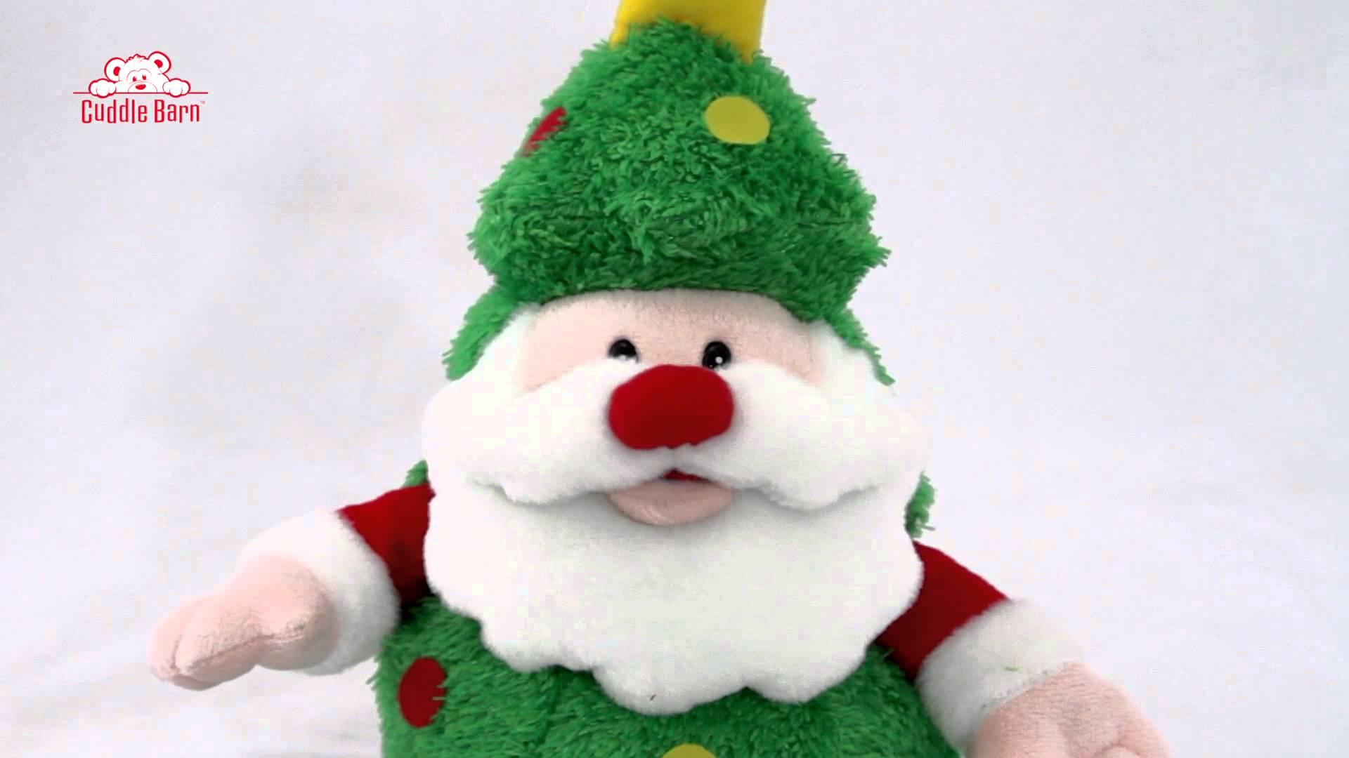 Animated Christmas Toys : Cuddle barn animated plush toy christmas jolly st nick