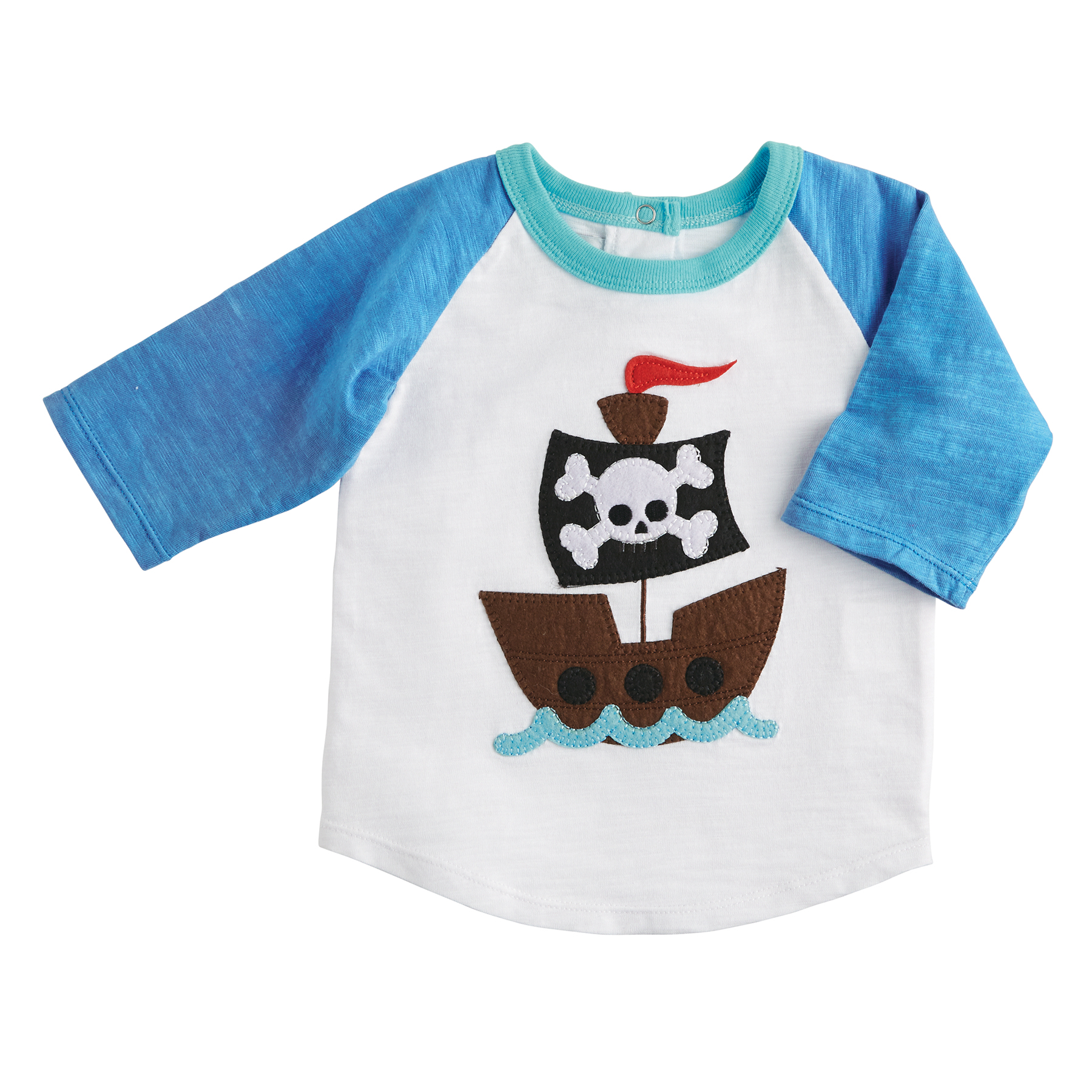 Mud Pie Mk6 Shark Tank Baby Toddler Boy T Shirt Shark