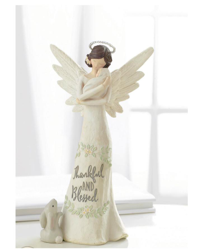 Grasslands road baby blessings home decor guardian angel Eba home interior figurines