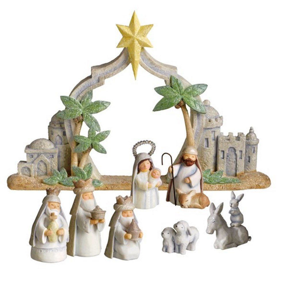 Grasslands road gifts of glory christmas pc mini nativity