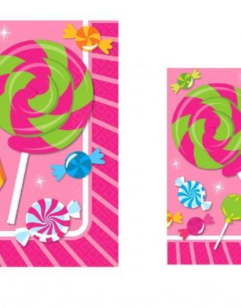 SweetShopNapkinsAmscan501539-511539