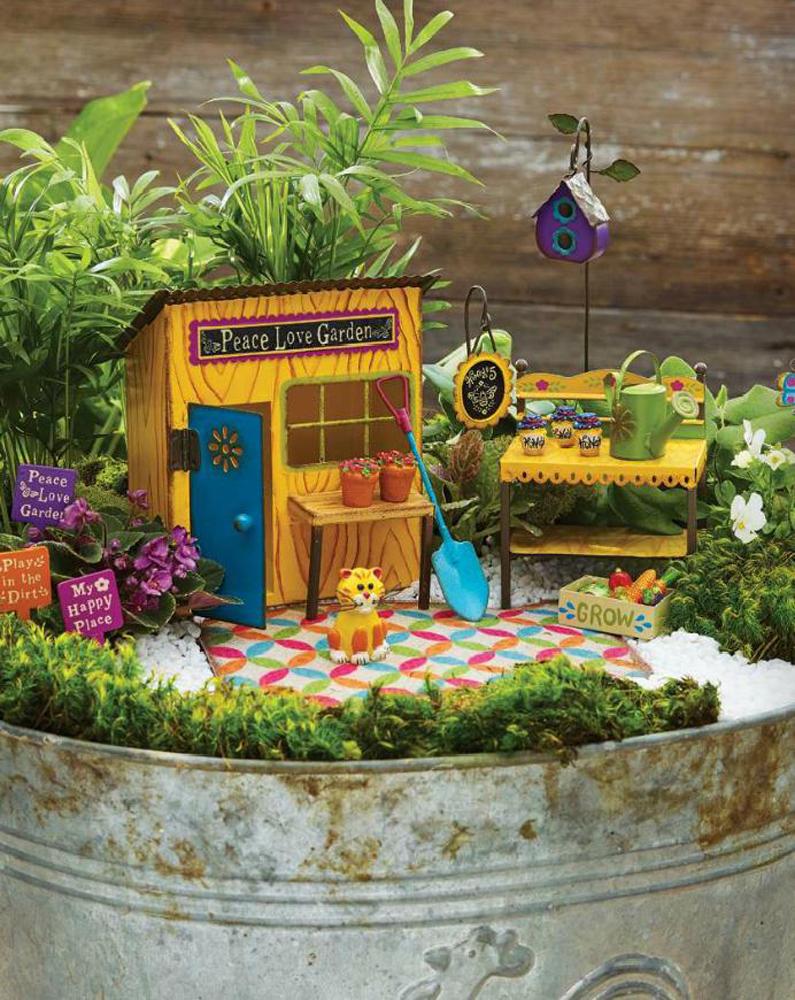 Studio M Genevieve Gail Fairy Gypsy Garden Mini Hanging