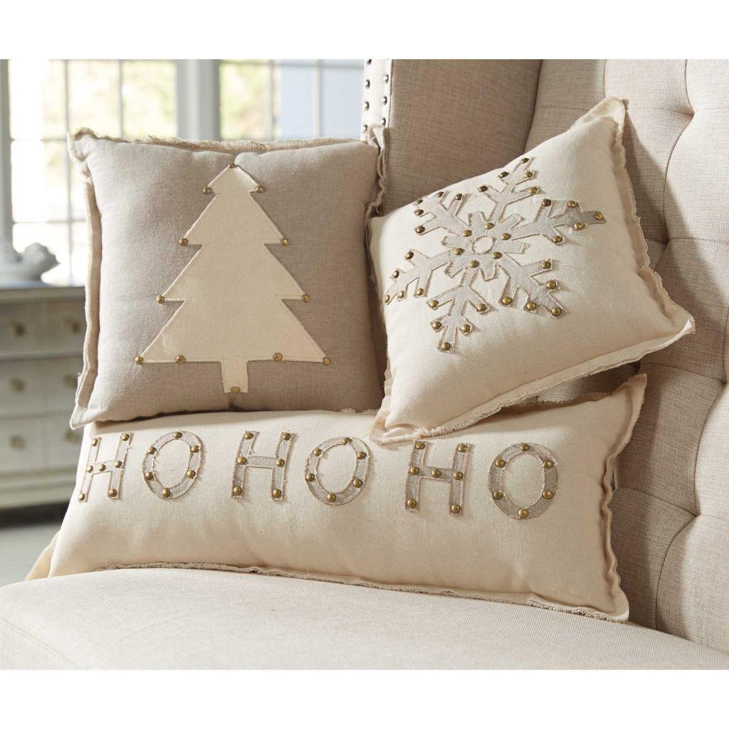 Mud Pie MH6 Lodge Christmas Home Decor Studded Holiday ...