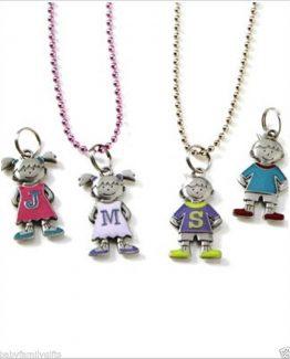 Ganz-Mother-Children-Initial-Colorful-Metal-Charms-Choose-Letter-Choose-Gender-300823834033