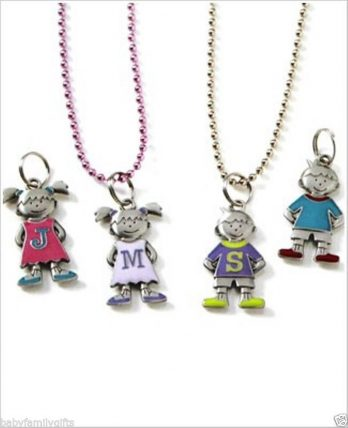Ganz-Mother-Children-Initial-Colorful-Metal-Charms-Choose-Letter-Choose-Gender-300823834033