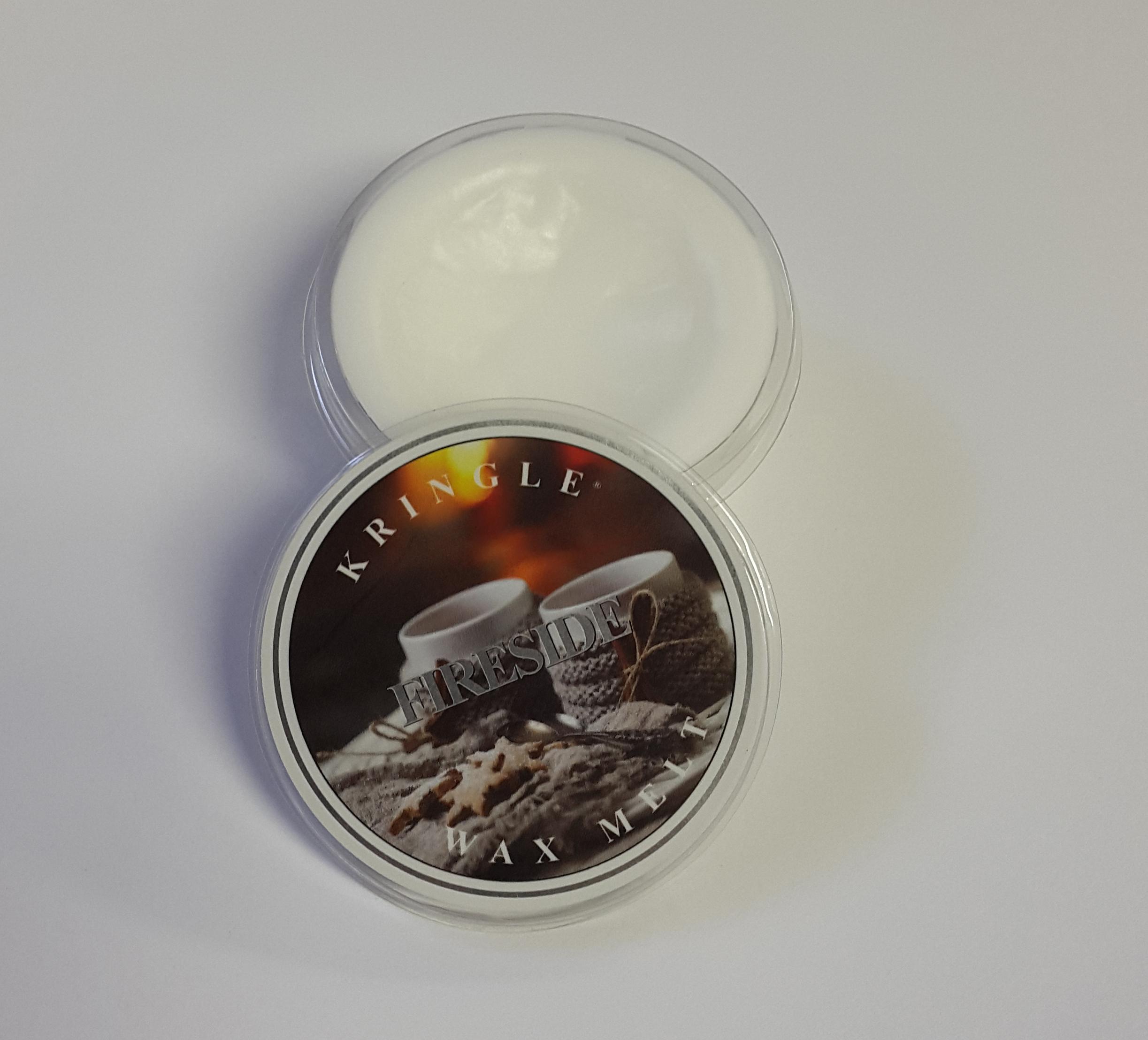 Kringle candle company home decor wax melt fireside for Decoration wax