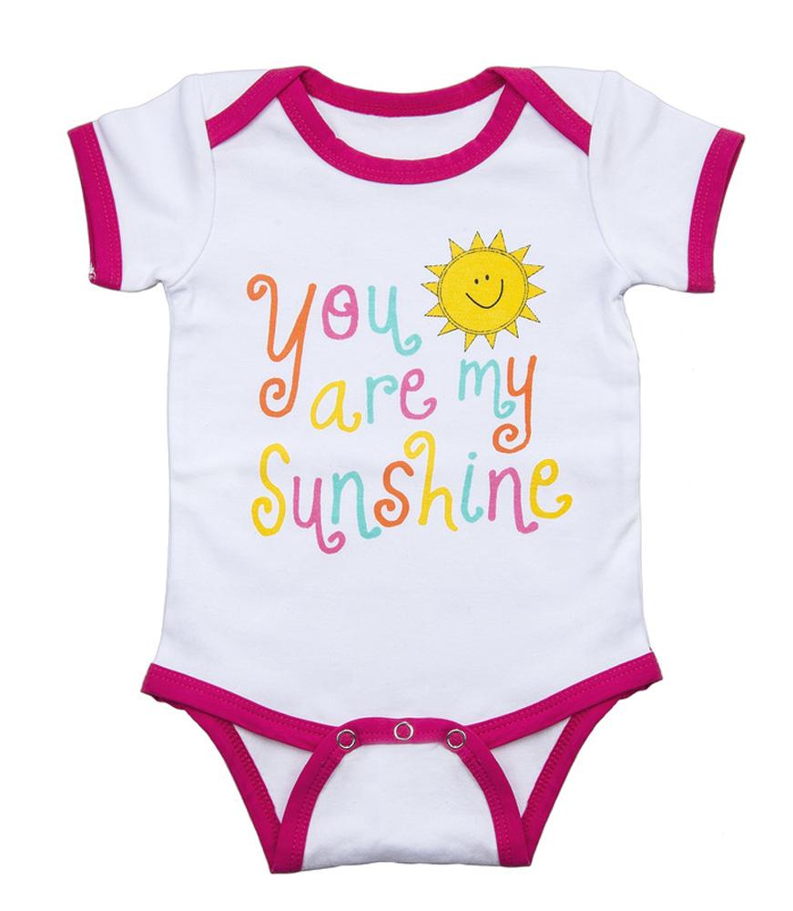 Ganz E7 Baby Girl Cotton Diaper Shirt 0 6 Mo You Are My