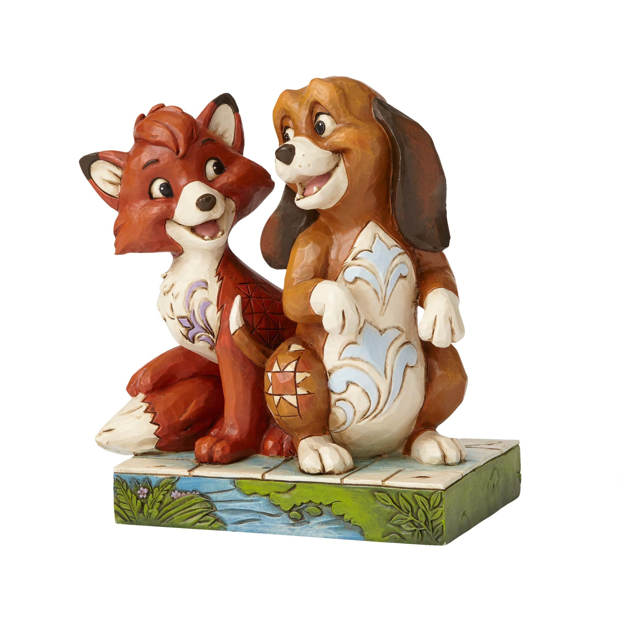 copper pipe fittings enesco disney traditions jim shore fox and the hound tod 29393