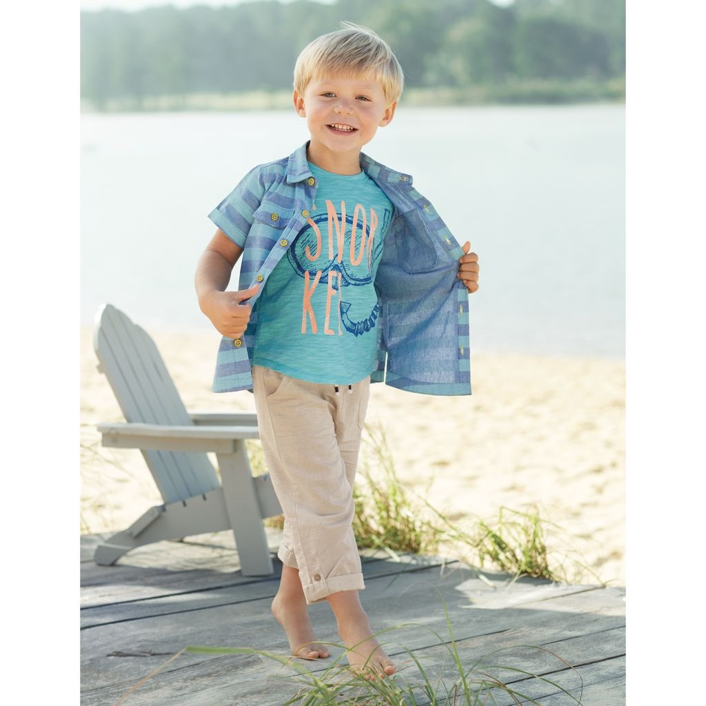 Mud Pie E8 Marco Polo Baby Toddler Boy Snorkel Graphic Tee T-shirt ...
