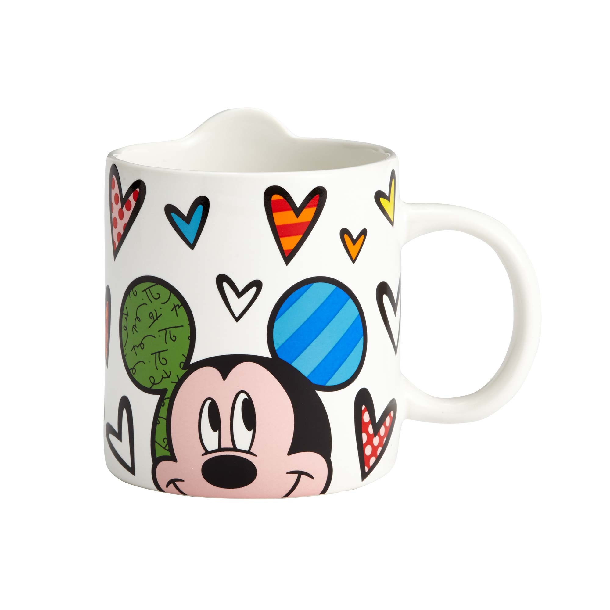 Enesco E7 Disney By Britto Mickey Minnie Mouse Angry Donald Or