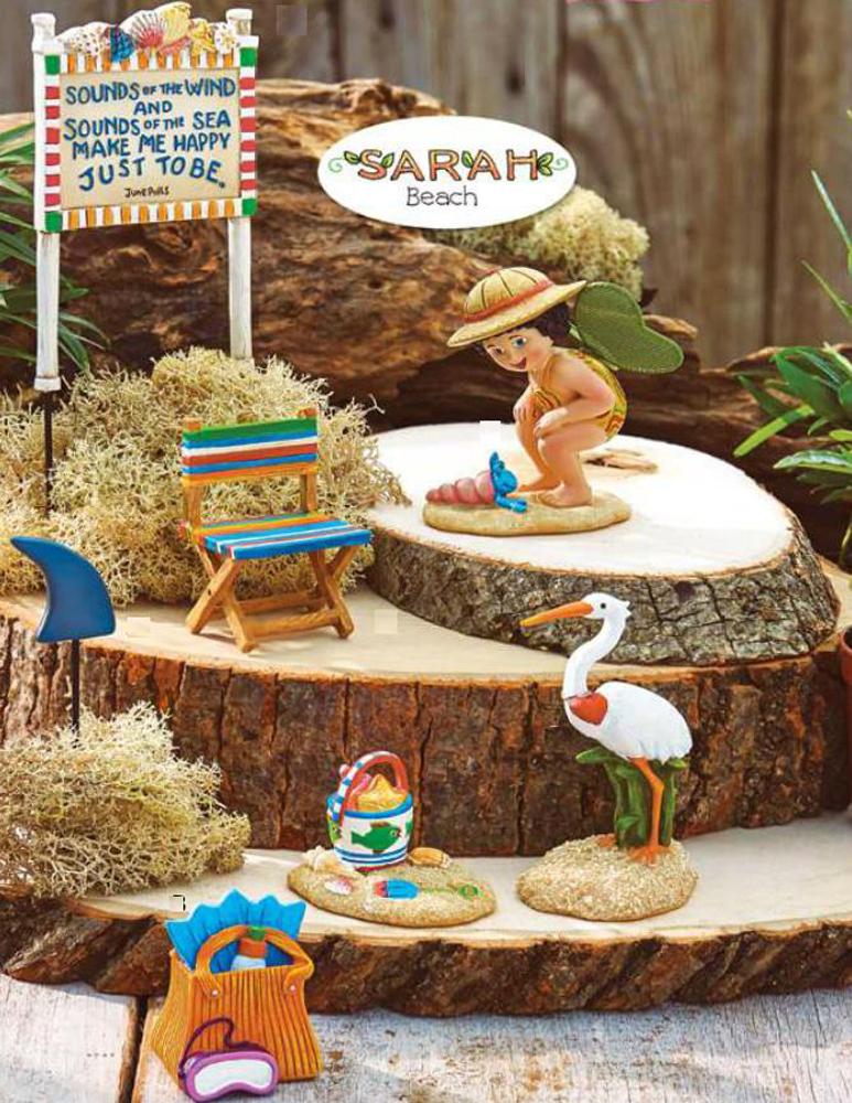 Studio M E8 Merriment Garden Mermaid Agnus Fairy Coral