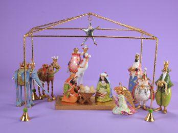 31202 Mini Nativity Set Above