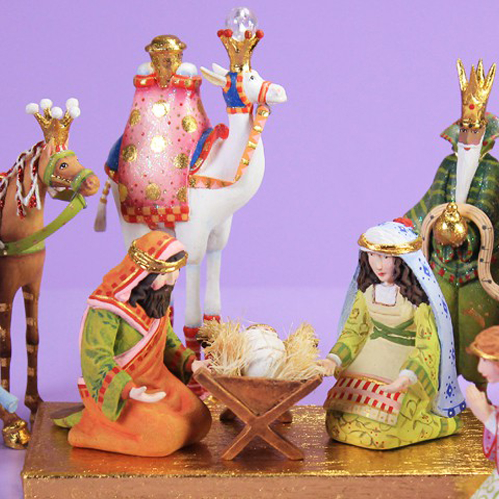 Patience brewster h christmas holiday pc mini nativity