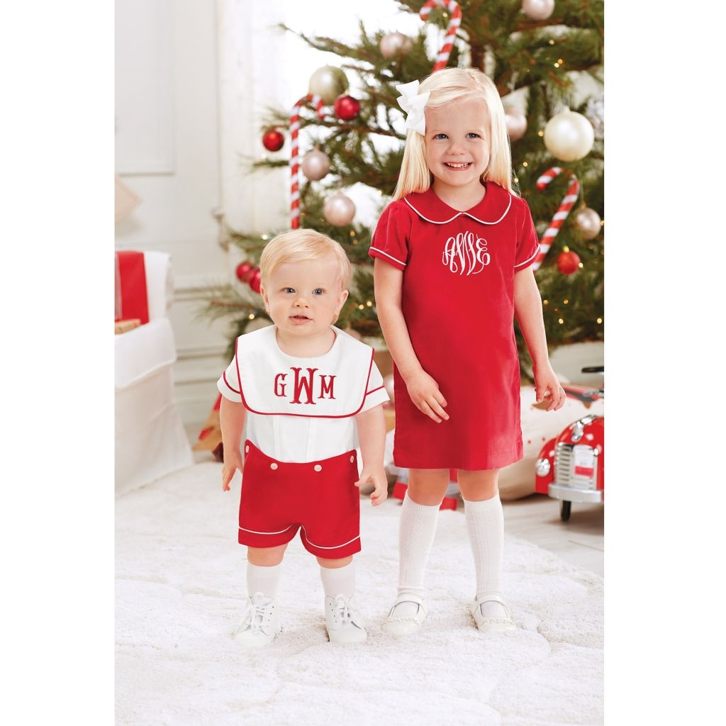 ede33307de9b ... Mud Pie H7 Christmas Baby Toddler Girl Red Corduroy Dress 1142174  Choose Size. 🔍. Out of Stock