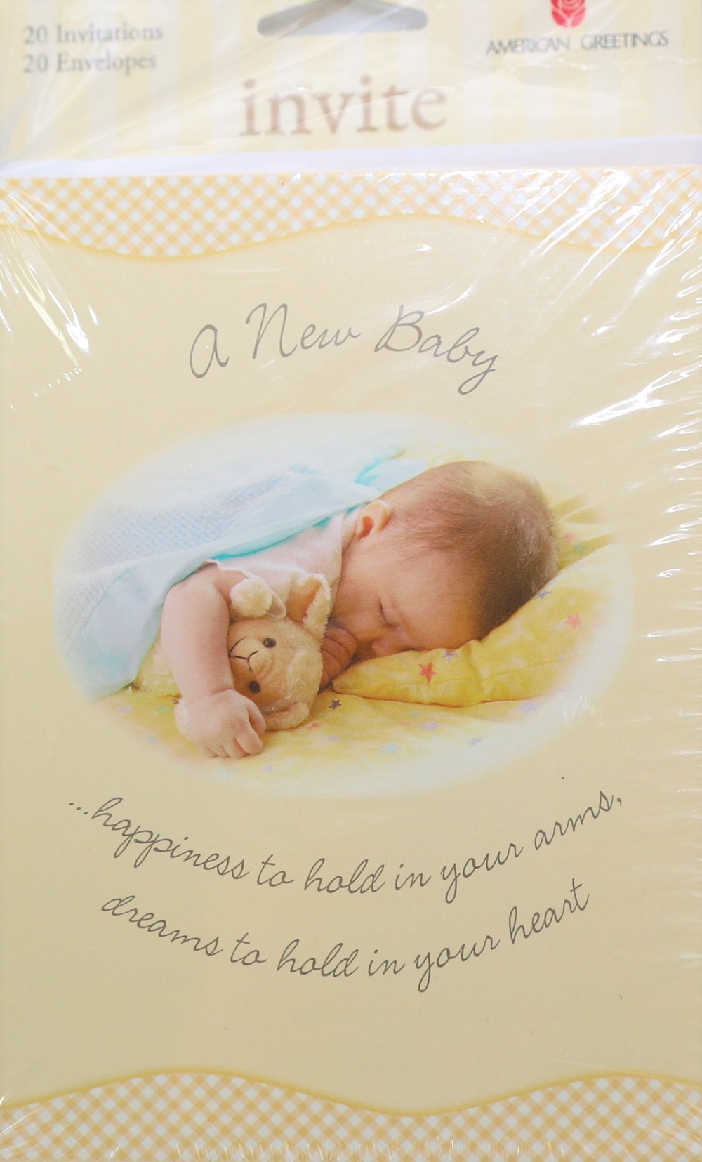 American Greetings E7 Party New Baby Boy Girl Shower 20 Postcard ...