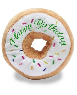 CB95360 - Happy Birthday Donut white