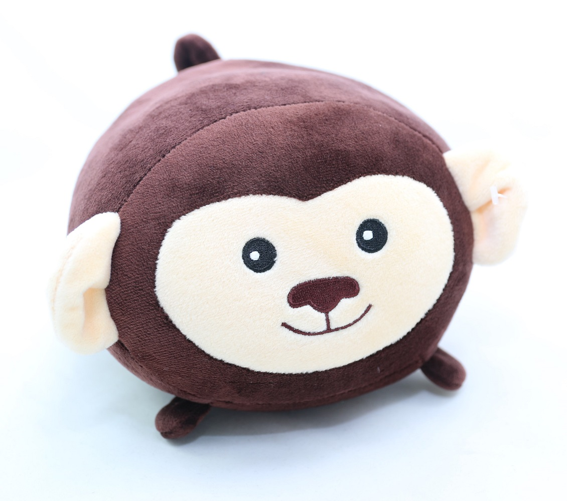 Ganz E8 Baby Plush Stuffed Animal 9in Squishy Monkey Toy H14359-Monkey ? BABY FAMILY GIFTS