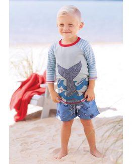 6afeff95d Mud Pie E8 Nautical Baby Toddler Boy Sail Away Swim Trunks 1022118 Choose