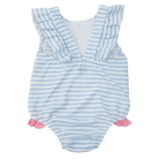 00a5892fc6ee99 Mud Pie E8 Summer Fun Baby Toddler Girl Sail Away Ruffle Swimsuit 1122134  Choose