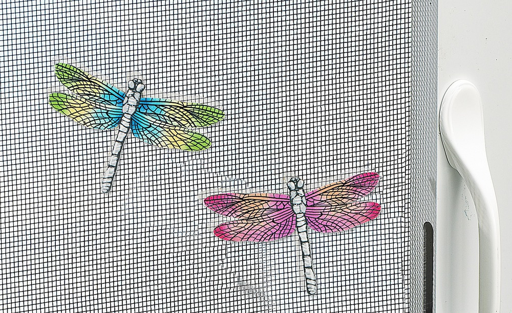 Ganz E8 Home Garden Decor Dragonfly Screen Door Saver