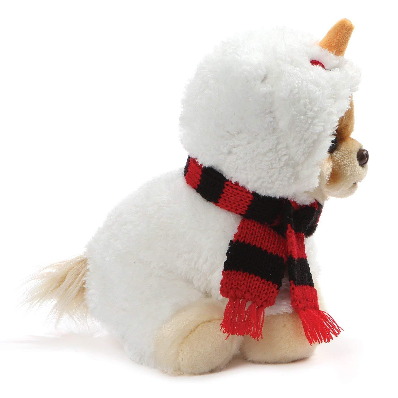 ef5ebdacc Enesco H8 Gund Christmas Baby Costume Dog Plush Toy – Boo Snowman 9in