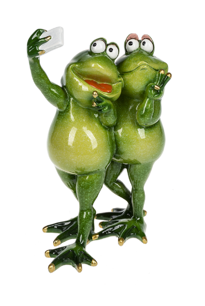 Ganz E9 Home Garden Decor 7.5in Friends Frog Figurine ER57855