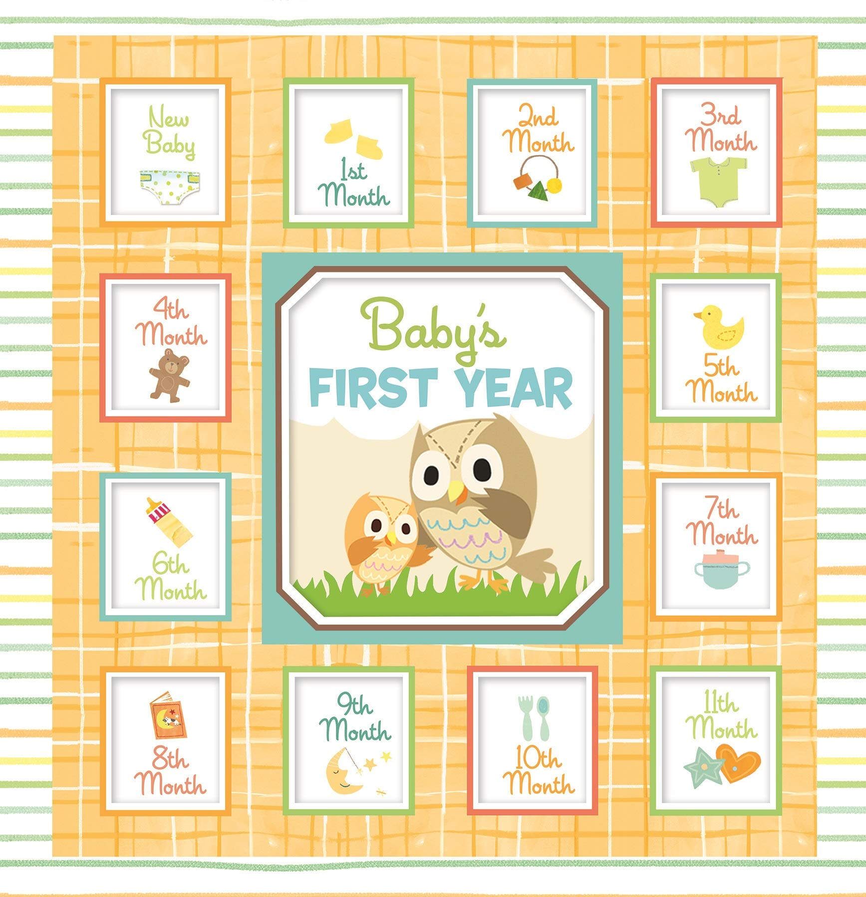 Pi Kids E9 Baby S First Year Owl Gender Neutral Yellow