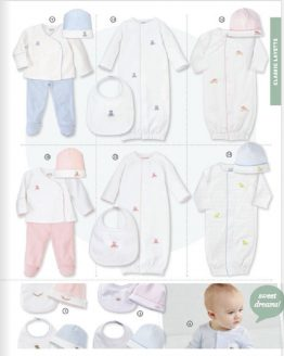Classic / Pink / Gray / Blue Layette