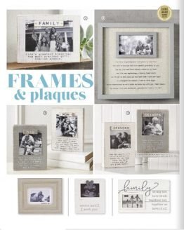 Frames and Plaques