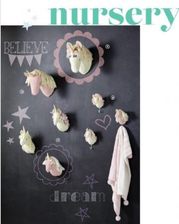 Nursery Wall Mounts, Hooks and Garlands