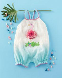 Mud Pie E0 Baby Girl Fun In The Sun Pineapple Bubble One-Piece 1132382 Choose