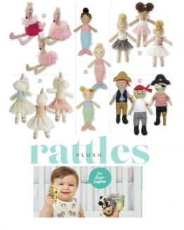 Plush Rattles and Finger Puppets