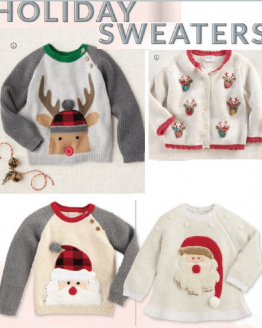 Holiday Cardigans and Sweaters
