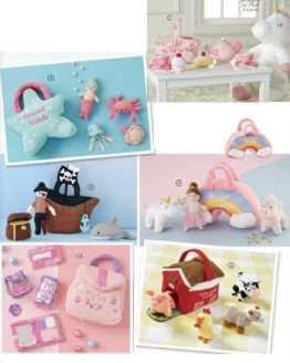 Plush Play Set - Pretend Play