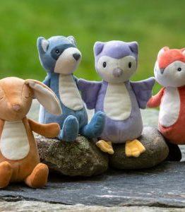 Leika - Little Fox, Raccoon, Bunny and Owl