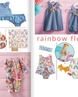 Rainbow Floral / Floral Baby / Sweet Blossom / Secret Garden / Petite Petals / Fresh Picked