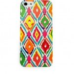 All-For-Color-iPhone-5-5s-Hard-Shell-Cell-Phone-Case-Multi-Color-Ikat-IPA6715-291197487182