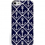 All-For-Color-iPhone-5-5s-Hard-Shell-Cell-Phone-Case-Navy-Blue-Anchor-IPA6611-301252408165