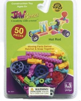 BE-Good-Company-Jawbones-Construction-Toy-50-Pieces-Hot-Rod-06051-301007374257