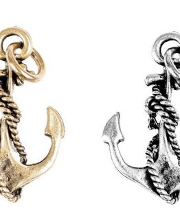 Beaucoup-Designs-Character-Gold-or-Silver-Anchor-Rope-Necklace-Bracelet-Charm-291251149675