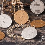 Beaucoup-Designs-Constellation-Horoscope-Sign-18-Gold-Necklace-Pendant-Set-301326780581